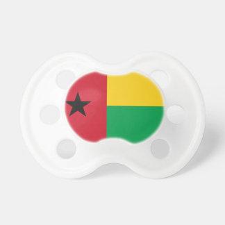 Bandeira nacional do mundo de Guiné-Bissau Chupeta De Bebê