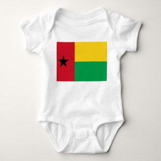 Bandeira nacional do mundo de Guiné-Bissau T-shirt