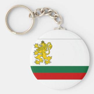 Bandeira naval da bandeira de Bulgária Chaveiro