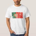 """Bandeira Portuguesa - por Fãs de """"Portugal"""" da T-shirt"""