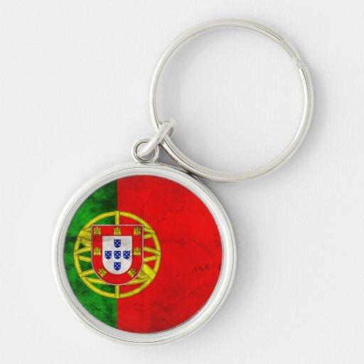 Bandeira portuguesa chaveiro