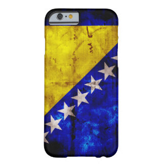 Bandeira resistida de Bósnia Capa Barely There Para iPhone 6