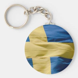Bandeira sueco chaveiros