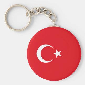 Bandeira turca chaveiro