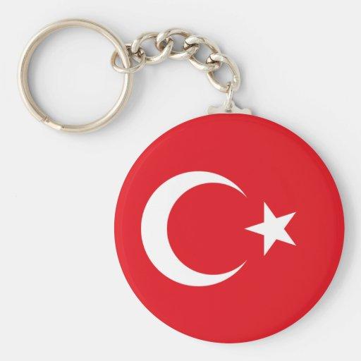 Bandeira turca chaveiros
