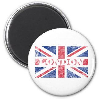 Bandeira velha de Londres Ímã Redondo 5.08cm