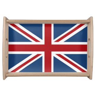 Bandeja Bandeira clássica de Union Jack Reino Unido