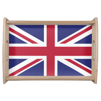 Bandeja Bandeira patriótica de Reino Unido