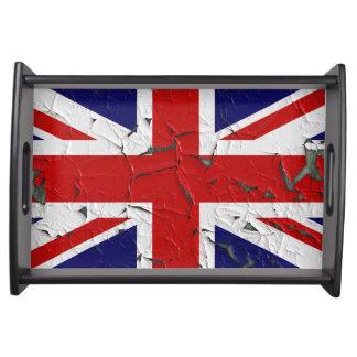 Bandeja Bandeira velha do Reino Unido