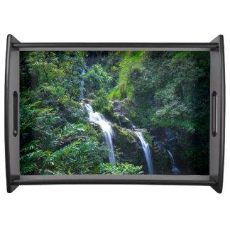 Bandeja Cachoeira em Maui Havaí