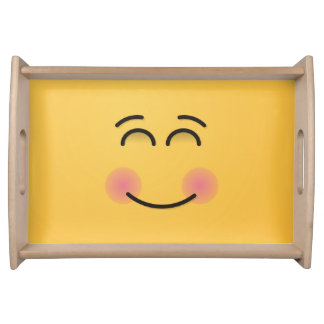 Bandeja Cara de sorriso com olhos de sorriso