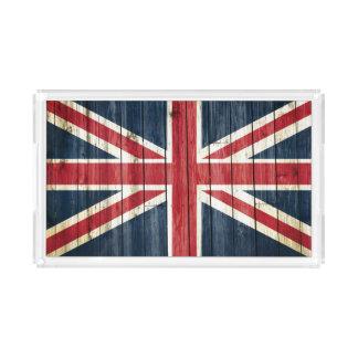 Bandeja De Acrílico Bandeiras de país afligidas | Grâ Bretanha