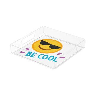 Bandeja De Acrílico Emoji seja legal