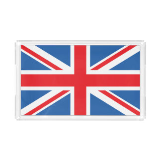 Bandeja De Acrílico Union Jack/bandeira