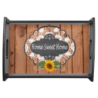 Bandeja Design Home rústico dos provérbios