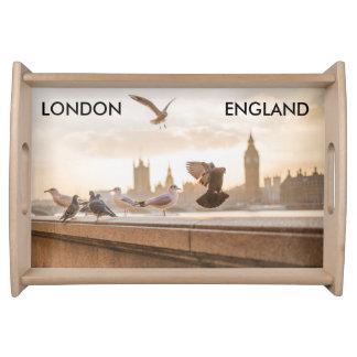 Bandeja do serviço de Londres, Inglaterra
