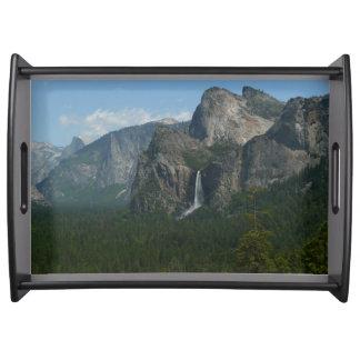 Bandeja Quedas de Bridalveil e meia abóbada em Yosemite