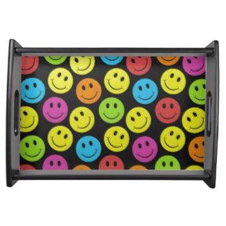 Bandeja Smiley face doce