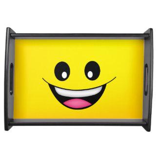 Bandeja Smiley face feliz