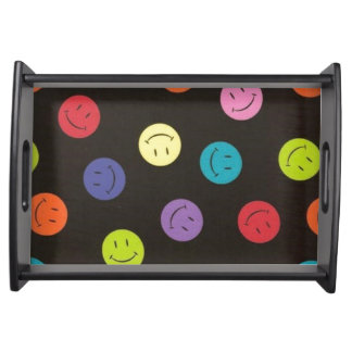 Bandeja Smileys face - Multi-coloridos