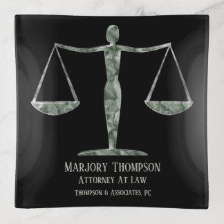 Bandejas Senhora Escamação Justiça Personalized