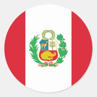 Bandera del Perú - bandeira de Peru Adesivo