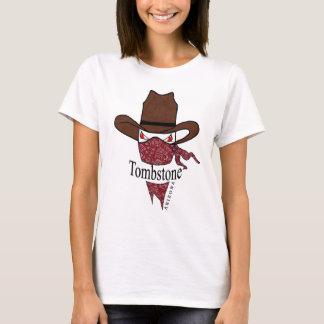 bandido do bandana da arizona da lápide camiseta
