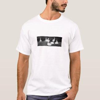 Bando dos gansos tshirts