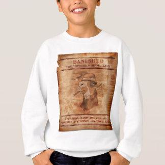Banish lamas do drama - camisola da juventude tshirts