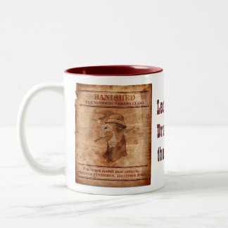 Banish lamas do drama - caneca do tom 15oz 2