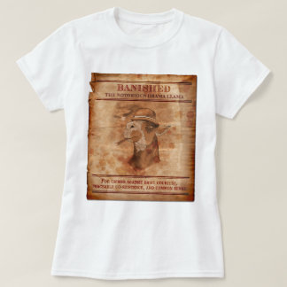 Banish lamas do drama - T cabido senhoras T-shirts