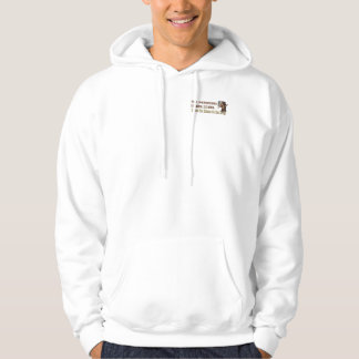 Banish o lama do drama - Hoodie adulto (a luz) Moletom
