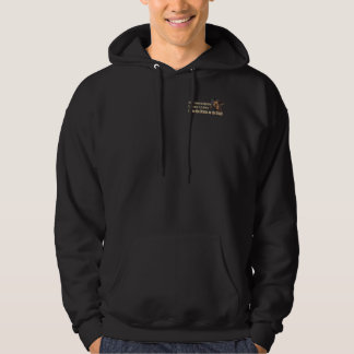 Banish o lama do drama - o Hoodie adulto (escuro) Moletom