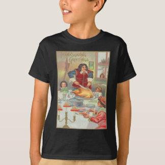 Banquete da acção de graças camiseta