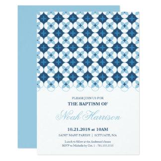 Baptismo, convite do batismo - o menino convida
