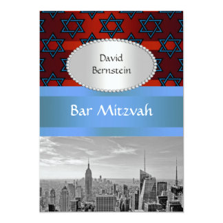 Bar Mitzvah #4P do Empire State Building da Convite