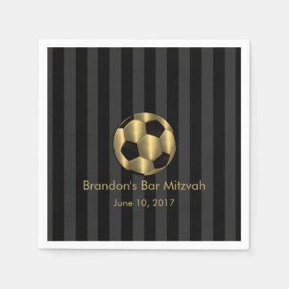 Bar Mitzvah alguma bola de futebol do ouro da list Guardanapos De Papel