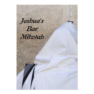Bar Mitzvah bastão Mitzvah Convite Personalizados