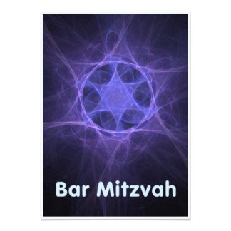 Bar Mitzvah Convite 12.7 X 17.78cm