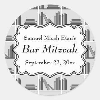 Bar Mitzvah do design da biblioteca Adesivo