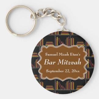 Bar Mitzvah do design da estante de Brown Chaveiro