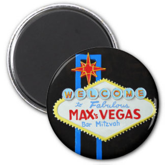 Bar Mitzvah Las Vegas personalizado Íman