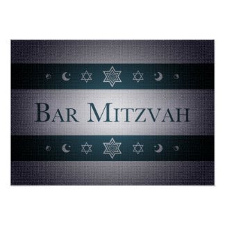 Bar Mitzvah Pôster