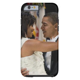 Barack e Michelle Obama Capa Tough Para iPhone 6
