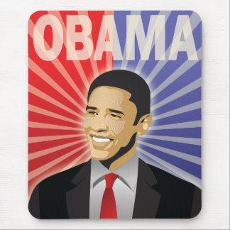 Barack Obama corajoso Mouse Pad