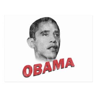 Barack Obama - liderança Cartão Postal