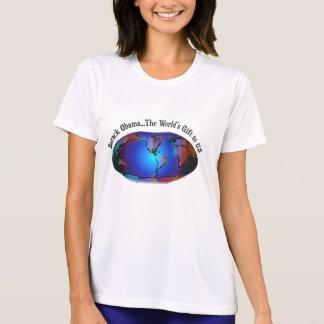 Barack Obama, o presente do mundo aos E.U. - Camisetas