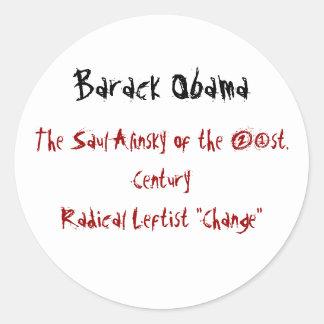 Barack Obama, Saul Alinsky do 2ø. CEN… Adesivo