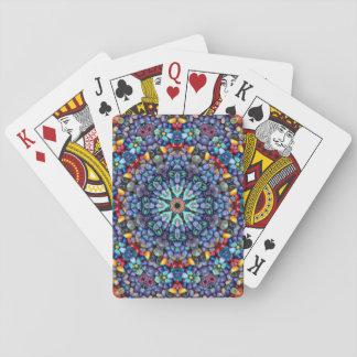 Baralho Cartões de jogo coloridos da maravilha de pedra
