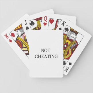 """Baralho """""""" Cartões de jogo de engano"""